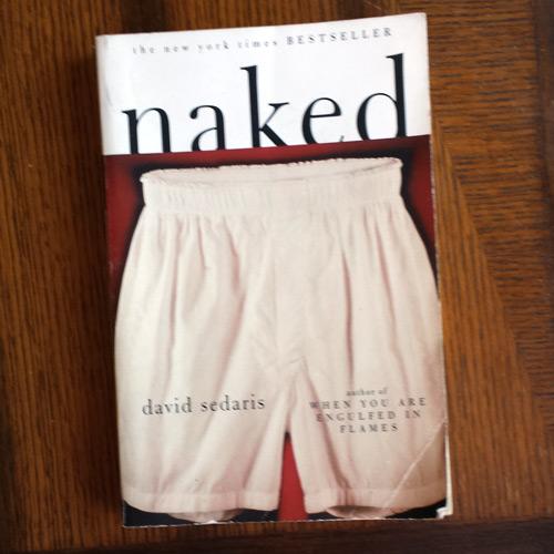 Naked David Sedaris Book OCD