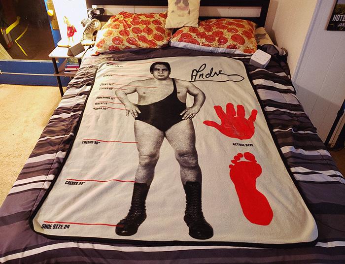 andre the giant blanket