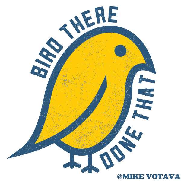 bird there done that shirt design