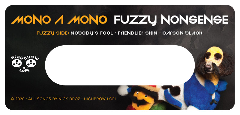 Fuzzy Nonsense: cassette label side B