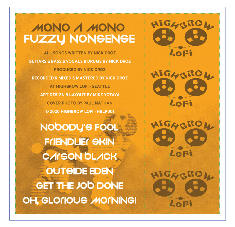 Fuzzy Nonsense: inside panel