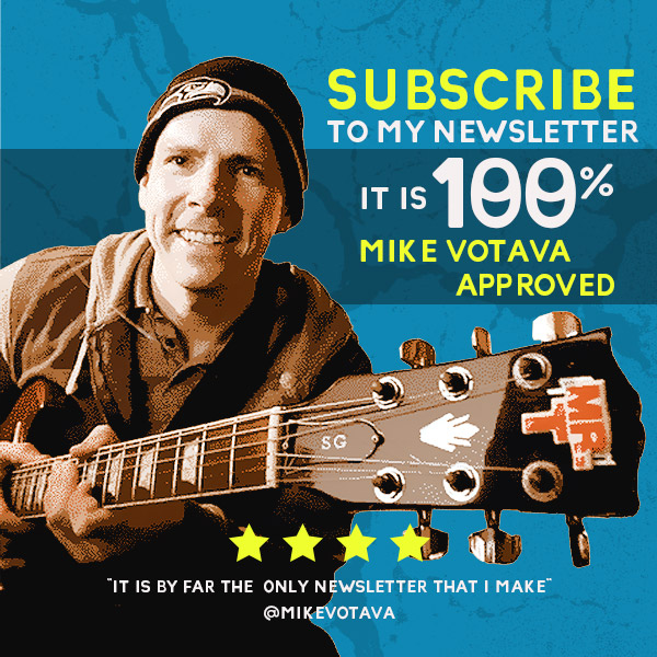 Mike Votava Newsletter Seattle music