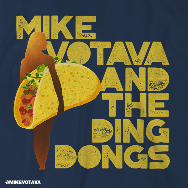 Mike Votava and The Ding Dongs shirt
